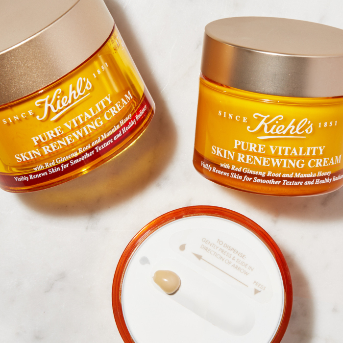kiehls pure vitality skin renewing cream