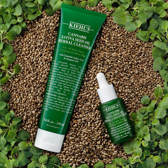 kiehls cannabis sativa seed oil herbal