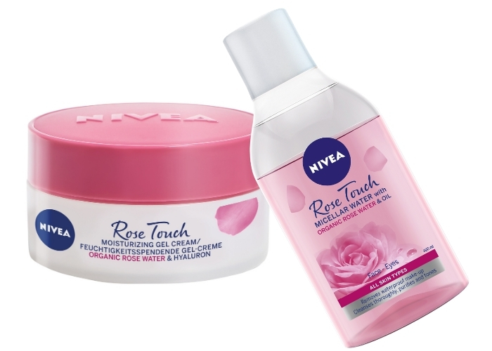nivea rose touch linija