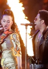 Katy i Lenny zapalili Super Bowl