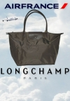 Dobitnici Air France Longchamp torbi