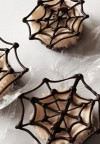 Mini Halloween Cheesecakes
